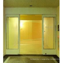 Portes Galsées glissantes ouvertes automatiquement