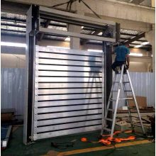 2018 Sound-proof Exterior Hard metal High Speed Door