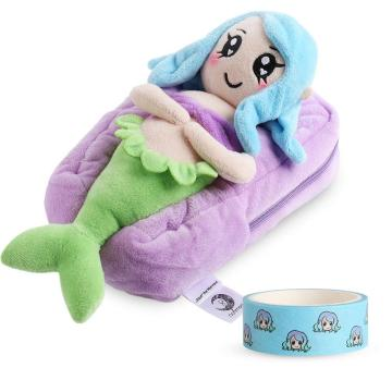 MERMAID PLUSH PENCIL CASE-0
