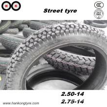 Уличная шина, 2.50-14 2.75-14 Шины, шины для мотоциклов