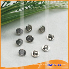 Botón de aleación de zinc y botones de metal y botón de costura de metal BM1591