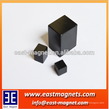 black high quality epoxy resin magnets/block ferrite magnet factory/powerful high gauss magnet for sale