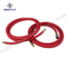 Smooth black  braided hose air compressor
