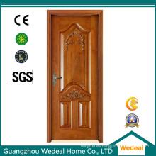 Personalice los materiales de construcción de la puerta de madera sólida para el proyecto