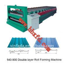 Double Roof Sheet Machine/Steel Sheet Forming Machine