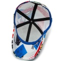 6Panel Digital Printing Sport Cap Hat Wholesale