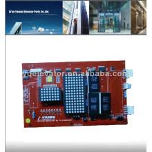 Tablero de exhibición del elevador de Hyundai OPB-CAN-INDICATOR BD V1.0 262C215 panel de exhibición de hyundai
