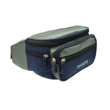 Waterproof 600d Polyester Travel Waist Bag With Zipper Closure