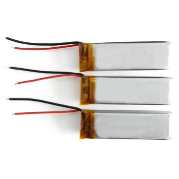 ultra slim lipo battery 752090 3.7v 700mah