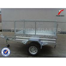 Tilting cage trailer 6x4 trailer