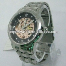 Мода Автоматические Часы Мужчины Из Нержавеющей Стали Часы 15036