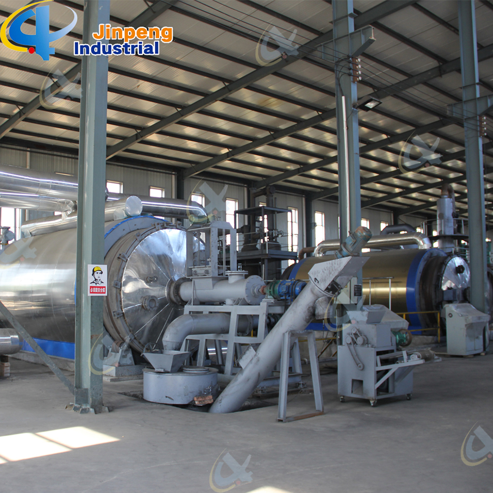 Pyrolysis Oil Plastic Recycling Line