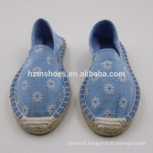 oem service simple shoes women espadrille