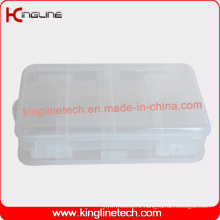 Eco-Friendly Plastic 10-Cases Pill Box (KL-9132)