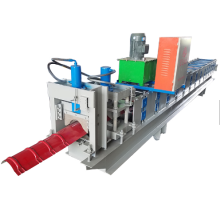 Roof Ridge Cap Metal Roll Forming Machine
