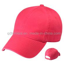 Popular lavado Chino Twill deporte Golf Gorra de béisbol (TRNB025)