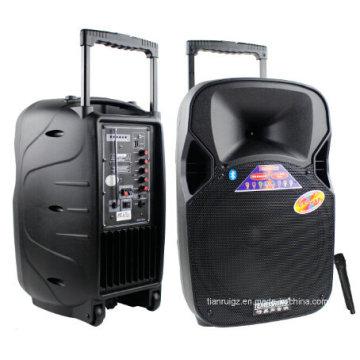 Altavoz de la batería 12inch con el amplificador de potencia del micrófono del USB de Bluetooth F87