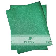 Африканских сего headtie ткани в розницу свадьбу 2шт/комплект мода чистый цвет