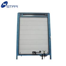 Alta qualidade caminhão de retenção de calor de alumínio rola acima da porta