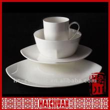 4pcs louça de porcelana real, louça de cerâmica