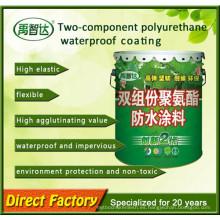 Dos componentes Impermeabilización de Polyurea / Revestimientos de poliuretano / Resistencia a la intemperie