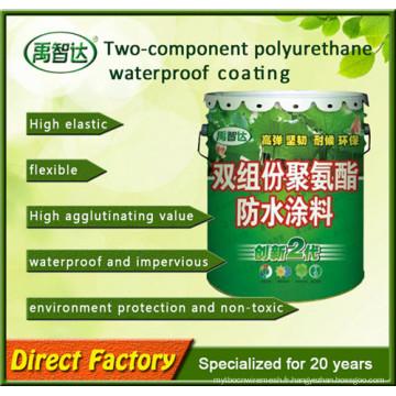 Imperméabilisation de polyurea de deux composants / enduits de polyuréthane / résistance aux intempéries