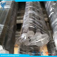 Barra hexagonal em aço inoxidável DIN 303