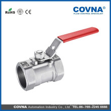 Screwed End SS304 Stainless Steel Manual Ball Valve