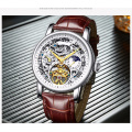 Modern carrying case parts display mechanical wrist watch