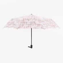 A17 guarda-chuva 5 vezes guarda-chuva compacto auto guarda-chuva aberto e fechado