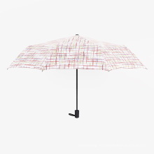 А17 5 сложите зонт компактный зонт авто открыть и закрыть зонтик