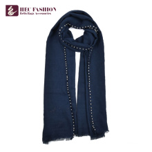 HEC Custom Multicolor Winter Warm Plain Color Scarf For Women