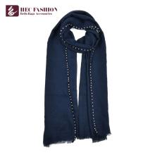 Хек пользовательские многоцветный зима теплая чистый Цвет шарф для женщин