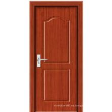 Puerta de madera de PVC (PM-M015)