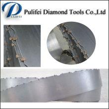 Lame de scie à ruban en pierre de granit de machine de marbre de coupe de diamant
