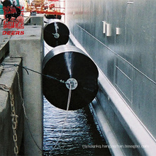 Made in china 1000*1500mm dock marine cushion foam filled fender/bumper