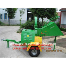 wood chipper 22HP CE approved with self feeding system