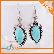 High Quality Antique Silver Jewelry Stone Women Drop Earring Online