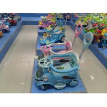 Nuevo modelo de alta calidad ronda Baby Walker / Simple 8 ruedas giratoria Baby Walker en venta