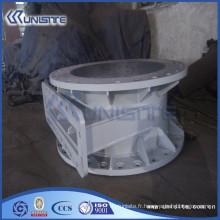 Vanne de décharge de drague en acier haute pression (USC10-013)