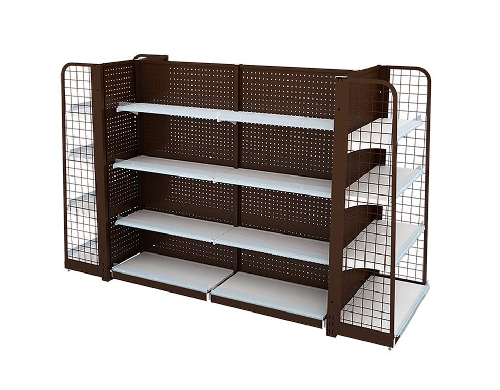 Supermarket Metal Shelving Units