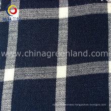 Cotton Viscose Habijabi Checks Yarn-Dyed Fabric for T-Shirt Garment (GLLML172)