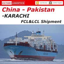 Ocean Shipping From China to Karachi, Pakistan