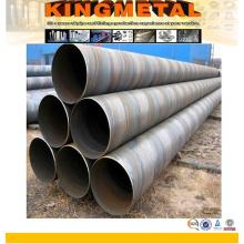 Tuyau d'acier d'empilage d'ASTM A252 Grade 2 / SSAW