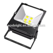 Chegada nova luz de inundação conduzida ao ar livre de 100w alumínio COB LED Projector