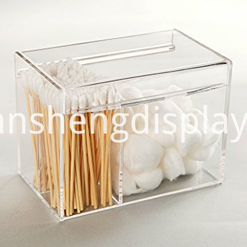 Acrylic Card File Box