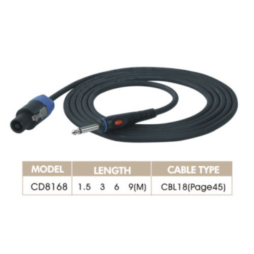 Male and Female Connectors Audio Link Cord