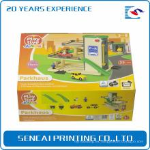Caja de embalaje de papel corrugado del juguete divertido de los niños de SenCai