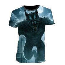 Venda quente chocante camiseta