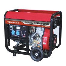 Eénfase 5KW dieselgeneratoren te koop